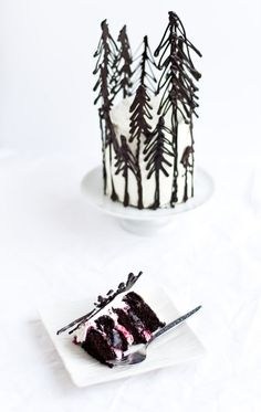 Black Forest Cake by dessertsforbreakfast #Cake #Black_Forest