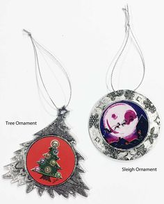 All the other trees will be jealous! Celebrate the holidays with my new Day of the Dead ornaments. https://www.frenzyart.com/store/holiday-ornaments/?utm_content=buffere41ce&utm_medium=social&utm_source=pinterest.com&utm_campaign=buffer