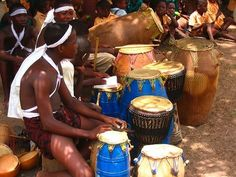 I would like to be here, playing the djembe with these friends