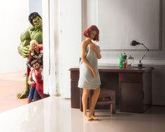 Mirá lo que hacen los superhéroes cuándo no luchan contra los villanos | El Trece