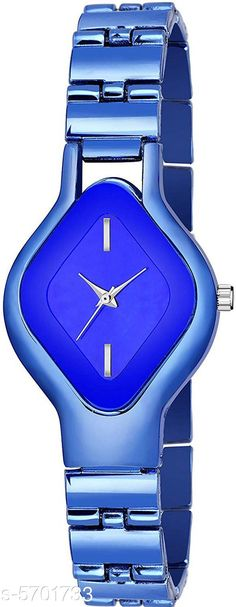 Checkout this latest Watches Product Name: *Trendy Women's Watch* Strap Material: Metal Display Type: Analogue Size: Free Size Multipack: 1 Easy Returns Available In Case Of Any Issue   Catalog Rating: ★4 (342)  Catalog Name: Unique Women Watches CatalogID_855844 C72-SC1087 Code: 902-5701733-504