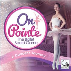 Here is the final art for the box design for On Pointe - the Ballet Board Game.  What do you think?? #boardgameart #balletlife #onpointe Games For Girls, Box Art, Box Design, Board Games, Dancer, Ballet, Artists, Gifts, Shopping