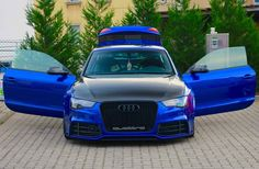 Audi RS5 sepang blue