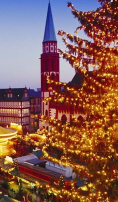 It'll come as no surprise that this is one of the largest holiday markets in all of Germany.