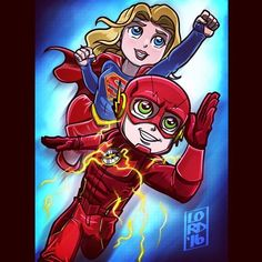 Looking forward to this team-up!! ⚡️ I would have ever thought they could pull off a crossover with 2 shows on different networks, but I'm so glad they are doing it!! @melissabenoist @grantgust...