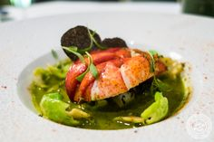 Lobster at Petrossian in NYC, New York