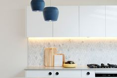 Carly Leighton Contemporary Art Deco Kitchen Freedom Kitchens Caesarstone Raw Concrete (4)