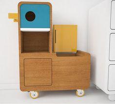 fantastic blue-duck kids' furniture design by E-Glue*  (via Kickcan & Conkers)