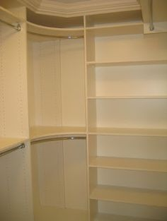 Good idea for the corners of the closets