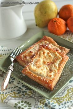 Quick and Simple Cheese Danish - www.countrycleaver.com