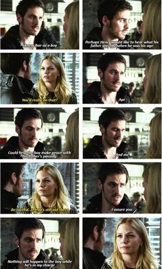 Once Upon a Time Emma and Hook
