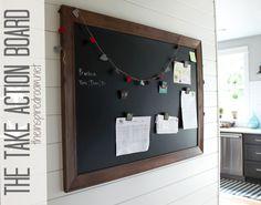 Paper clutter organization board #Ineedone #organizing