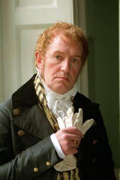 Sir Walter Elliot, Persuasion. Another of Jane Austen's Georgian Gits.