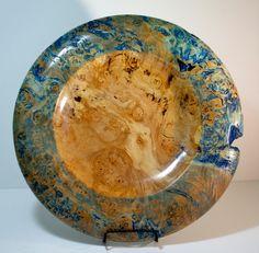 Blue Maple Platter. via Etsy.