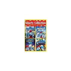 The Smurfs 2 / The Smurfs / The Smurfs: The Legend of Smurfy Hollow / The Smurfs Christmas Carol (DVD)