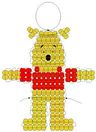 Image result for pony bead patterns halloween