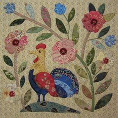"""JANE'S THREADS AND TREASURES: """"Caswell Haantje.....Caswell Cockerel"""""""
