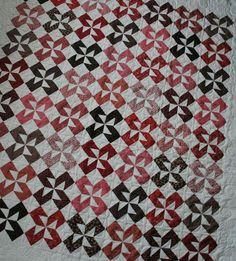 LaReen Zollinger's half-square triangle pinwheel quilt