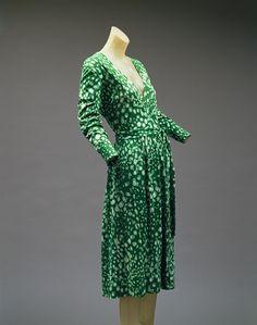 Diane Von Furstenberg: Wrap dress (1997.487)   Heilbrunn Timeline of Art History   The Metropolitan Museum of Art