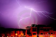 Amazing+photos+Spain | Amazing Bolt Of Lightening At Night In Spain Royalty Free Stock Photos ...