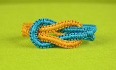 Infinity Square Knot Bracelet