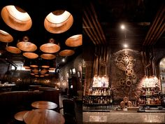 Victoria Brown coffe shop & bar & restaurant by Hitzig Militello Architects, Buenos Aires   Argentina restaurant coffee tea bar