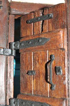 Medieval Ironmongery/Door furniture. Doll by MagicalMiniaturesUK