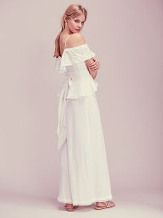 Marloes Horst || FP Kristal's Limited Edition White Dress (Soft White)