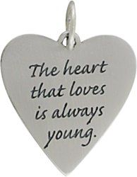 The heart that loves...