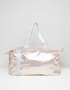 ASOS LIFESTYLE Metallic Slouchy Holdall bag