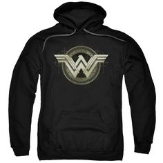 BATMAN V SUPERMAN ANCIENT EMBLEMS Adult Pull-Over Hoodie