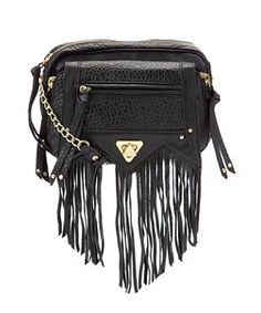 Fringes and tassles are big this season so work the trend with this bag by Mischa Barton. £74.99  at New Look