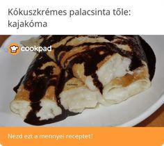 Kókuszkrémes palacsinta French Toast, Baking, Breakfast, Ethnic Recipes, Food, Morning Coffee, Bakken, Essen, Meals