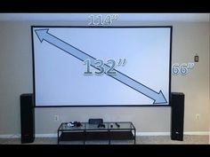 Easy steps to build a DIY Home Theater Projector Screen #hometheaterdiy #hometheatreprojectors #hometheaterprojectorscreen