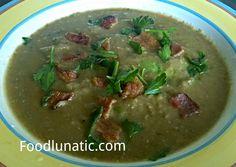 Roasted Garlic Mung Bean Soup #recipe #food #foodporn #eat #foodlunatic