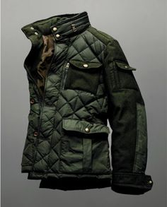 Traditional and contemporary chic! A fresh approach to the timeless barn jacket.