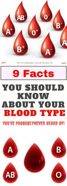 Here Are 9 Facts You Should Know About Your Blood Type!!! ~ KrobKnea