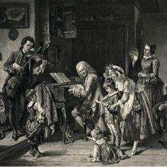 William Hogarth - A Rake's Progress - Plate 7 - The Prison Scene - Category:Fleet Prison - Wikimedia Commons William Hogarth, Oboe, Johann Bach, Sebastien Bach, Smelling Salts, Fine Art Prints, Canvas Prints, London Art, Gravure