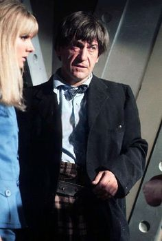 Patrick Troughton (The second Doctor) Doctor Who Tv, Second Doctor, Good Doctor, Classic Series, Classic Tv, Power Of The Daleks, Original Doctor Who, Avant Garde Film, Classic Doctor Who