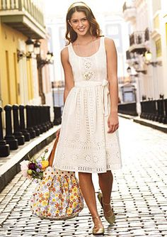 I had a dress similar to this when I was a little girl.