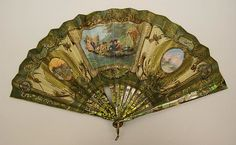 Designer: Stern Brothers (American, founded New York, Date: late century Culture: probably French Credit Line: Gift of Mrs. Antique Fans, Vintage Fans, Vintage Items, Hand Held Fan, Hand Fans, Fan Decoration, Maker Culture, Edwardian Fashion, Museum Collection