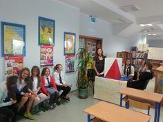 W bibliotece zorganizowaliśmy lokal wyborczy podczas wyborów do Samorządu Uczniowskiego
