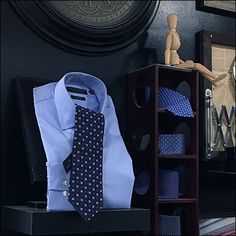 This Men's Designer Necktie Display is what might result if your home decor theme centered on neckwear. Here it is a one-wall focus within the larger Men's Department, and a creative one at that Baby Car Seats, Miniature, Retail, Display, Store, Children, Men, Design, Home Decor