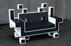 igor chak: space invader couch