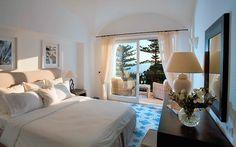 Our hotel room -- Hotel La Minerva Capri
