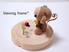 blessing frameのくいりんぐノート:おさるの進歩。