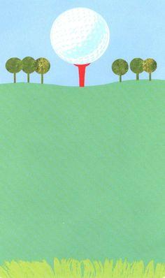 golf invitation green golf ball miniature golf birthday party