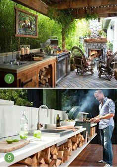 22 Mejores Imagenes De Cocinas En Patio Cocinas Al Aire Libre