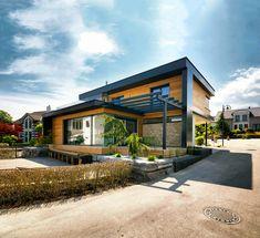 Neues Wohngefühl - Dieses innovative KAMPA Haus bietet ein neues Wohngefühl in kubischer Bauweise. Vor allem der großzügige Wohn und Essbereich im Erdgeschoss schafft g...