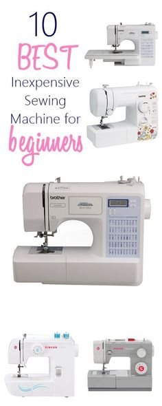 Looking to buy your first sewing machine? Check out these Best Inexpensive Sewing Machine for Beginners that would make a PERFECT gift for beginner sewists and are also great for simple beginner sewing projects. You can buy some of them for kids who are e